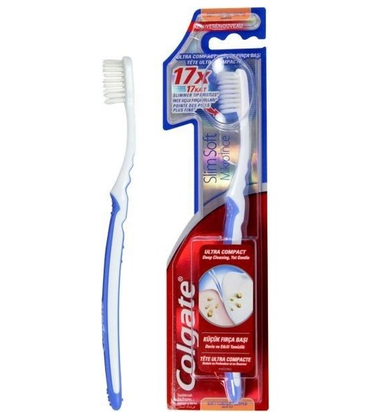 Colgate Slim Soft 17x четка за зъби soft
