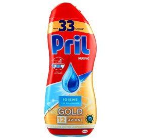 Pril Gold Gel Igiene гел за съдомиялна 33 дози
