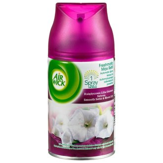 Air Wick Smooth Satin & Moon Lily ароматизатор 250 мл пълнител
