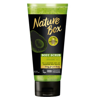 Nature Box Avocado Oil скраб за тяло 200 мл