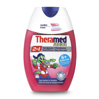 Theramed Junior 6+ 2in1 детска паста за зъби 75 мл