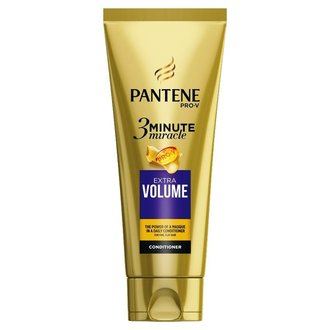 Pantene 3 Minute Miracle Extra Volume балсам за обем 200 мл