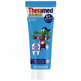 Theramed Junior Soft Mint детска паста за зъби 75 мл 6+ г.