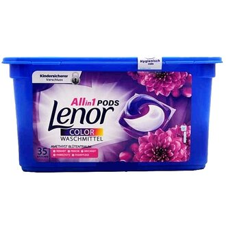 Lenor Amethyst All in 1 капсули 35 бр за цветно пране