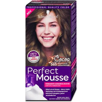Schwarzkopf Perfect Mousse 565 какао боя за коса